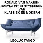 LEOLUX TANGO STOFFEREN, OOK VELE ANDERE LEOLUX MODELLEN WORDEN DAGELIJKS DOOR ONS GESTOFFEERD