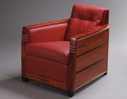Schuitema stoel Frank Art-Deco stofferen