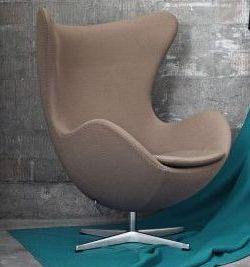 Fritz-hansen-egg-chair nieuw stofferen