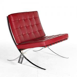 Knoll-Barcelona-Chair nieuw bekleden