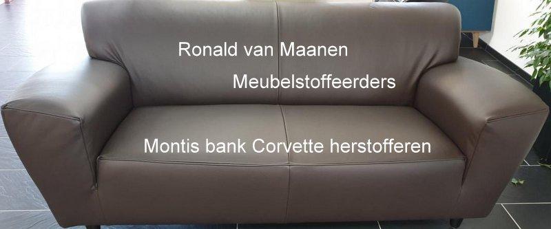 Montis bank Corvette herstofferen